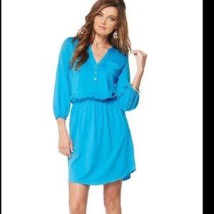Lilly Pulitzer Beckett Blue Shirt Dress